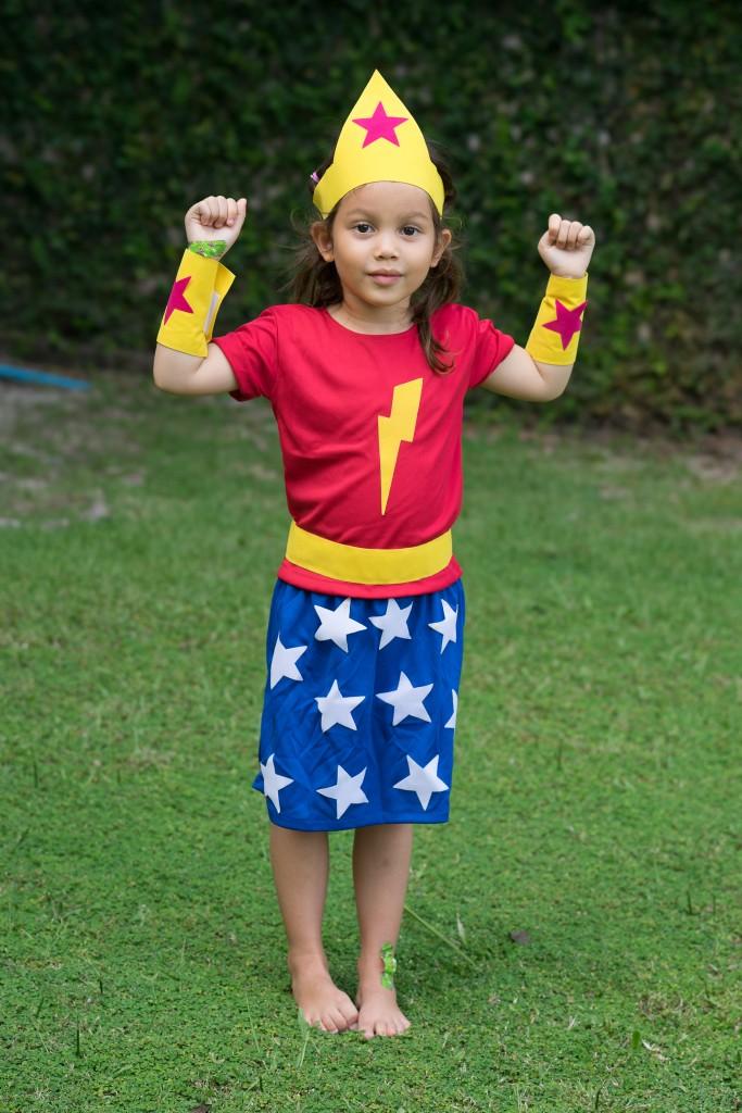นางเป็น Wonder Woman ค่ะ